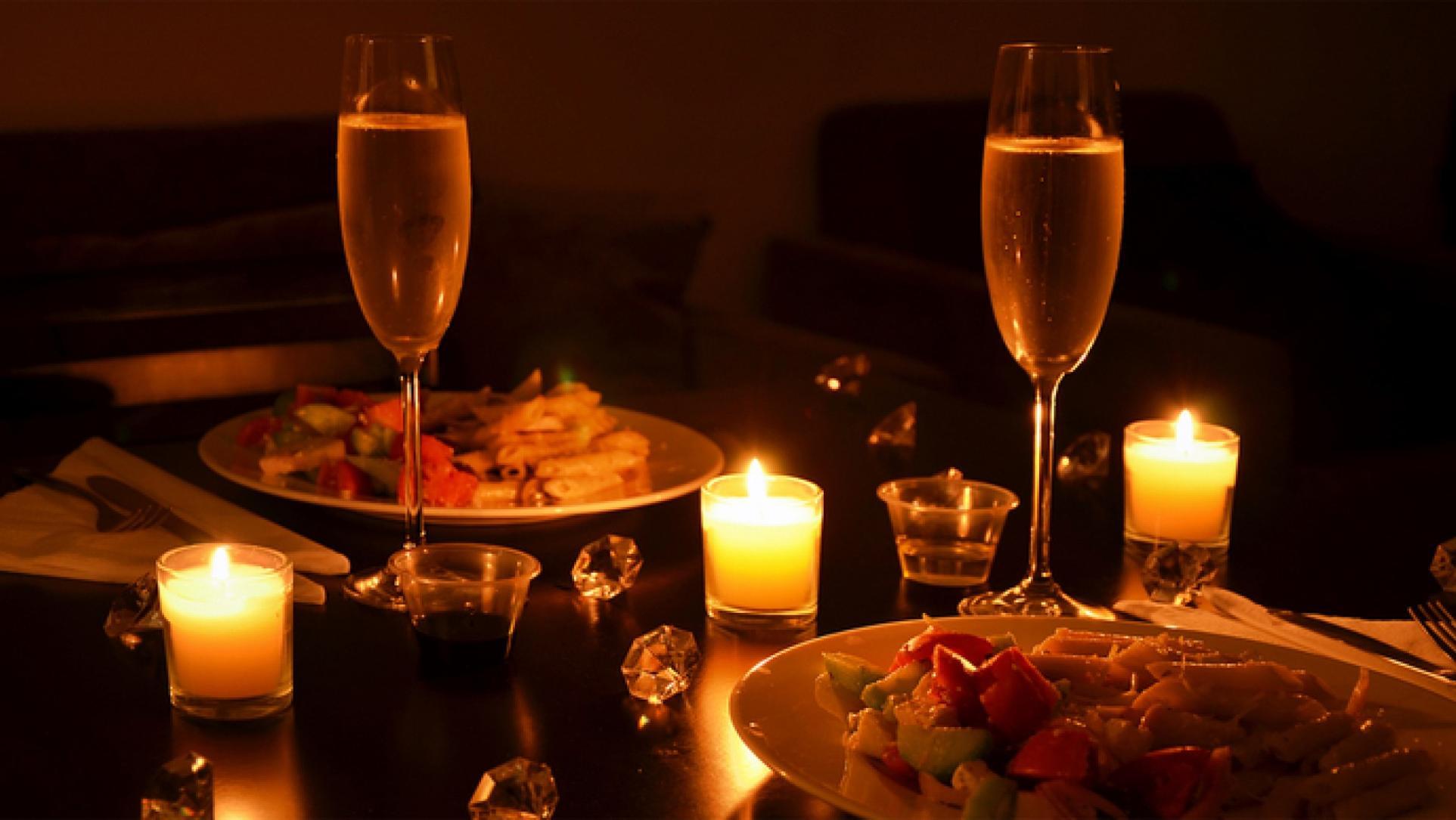 Как сделать романтический вечер в кафе
