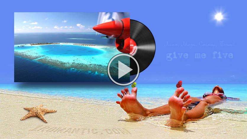 Открытки море пляж солнце 69