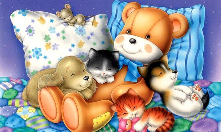 Игрушки открытки картинки для детей